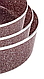 Набор противней для выпечки LEXICAL LG-640301-4 | форма для выпечки антипригарная | противень для запекания, фото 5
