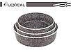 Набор противней для выпечки LEXICAL LG-640301-2   форма для выпечки антипригарная   противень для запекания, фото 6