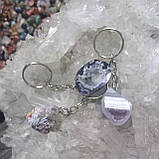 Брелок для ключей с агатовой жеодой, фото 4