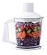 Блендер занурювальний Lexical LHB-1604 з чашею білий (1 л, 500 Вт) | міксер, харчової екстрактор, подрібнювач, фото 5