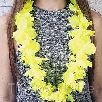 Гавайські леї Орхідеї (жовті)