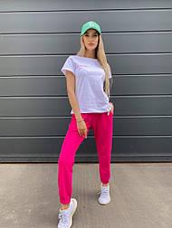 Спортивний жіночий літній костюм з футболкою