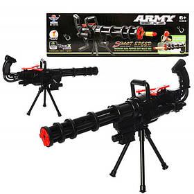 Пулемет игрушечный с поролоновыми пулями, SY019A