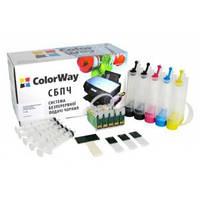 Система бесперебойной подачи чернил ColorWay Epson T1100 / T30 / TX510