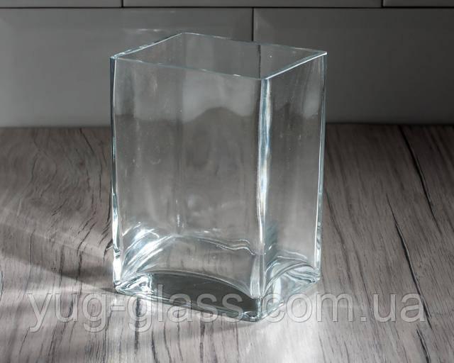 Пряоугольная ваза для квітів