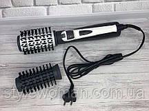 Плойка щётка автомат для укладки волос AS-550R Плойка расческа автомат супер объем