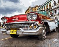 """Картина по номерам """"Ретро Автомобиль"""" 40*50 см картина для рисования"""