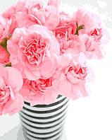 """Картина по номерам """"Цветы в вазе"""" 40*50 см картина для рисования"""