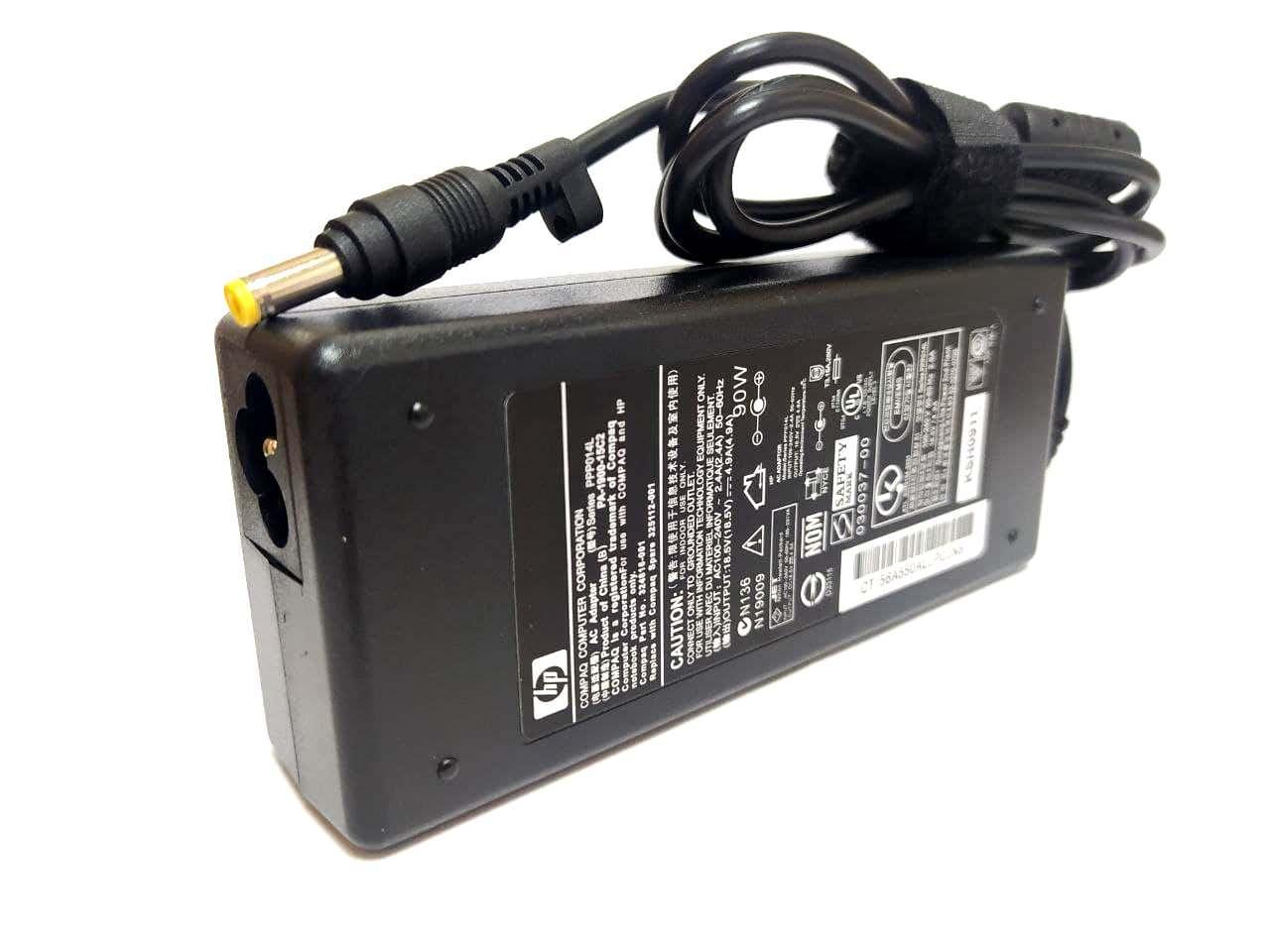 Блок питания для ноутбука HP Pavilion nc6115 18.5V 4.9A 4.8*1.7mm 90W