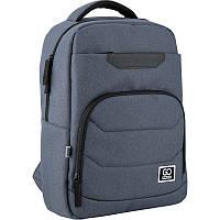 Рюкзак Сity 144-3 сіро-блакитний, GoPack