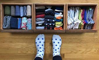 Как хранить носки. Организация гардероба