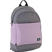 Рюкзак Сity 173-1 сірий, рожевий GoPack