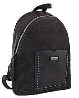 Рюкзак жіночий YW-19 темно-сірий, Yes