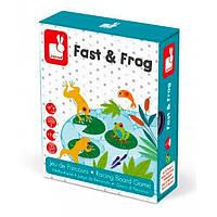 Розважальна гра / Гра для самих маленьких Janod Лягушки (J02698)