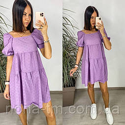 Стильне плаття жіноче літнє коттон