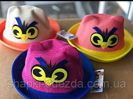 Шляпа детская  и украшением р 54