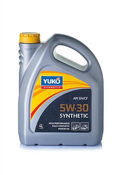 Моторное масло YUKO Synthetic 5w30 API SN/CF 1л.