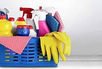 Засоби для прибирання будинку. Губки, ганчірки, йоржики і т. п.