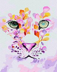 Картина по номерам Лепестковый портрет GX32348 Brushme 40 х 50 см (без коробки)