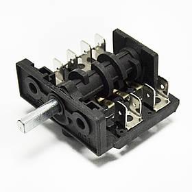 Переключатель режимов для электроплиты (5 позиций, вал 16 мм)