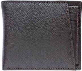 Шкіряний гаманець чоловічий Livergy коричневий