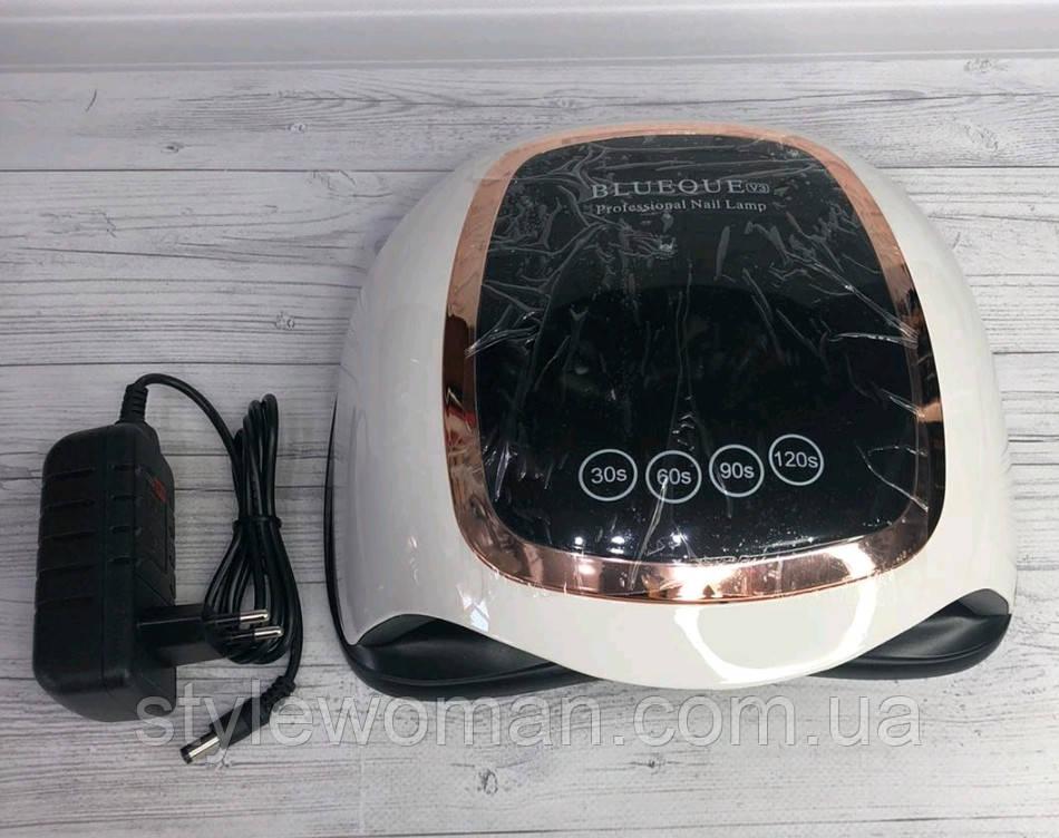 Nail Lamp лампа для сушки ногтей Sun BQ V3 лампа для маникюра 168вт