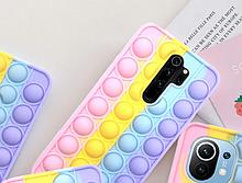 Чехол антистрес Pop it case на Xiaomi Redmi Note 8 Pro
