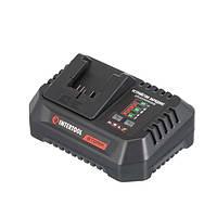 Пристрій зарядний для акумуляторів літій-іон 20 В, струм заряду 4.0 А INTERTOOL WT-0345
