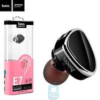 Bluetooth гарнитура Hoco E7 черная