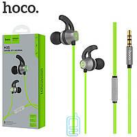 Наушники с микрофоном Hoco M35 зеленые