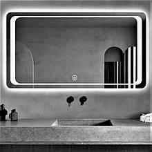 Зеркало DUSEL LED DE-M3031 100смх75см cенсорное включение+ подогрев