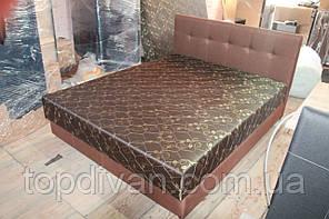 """Ліжко """"Жанна"""" (Брістон) з матрацом та підйомним механізмом 200*160 спальне (будь-які розміри)"""