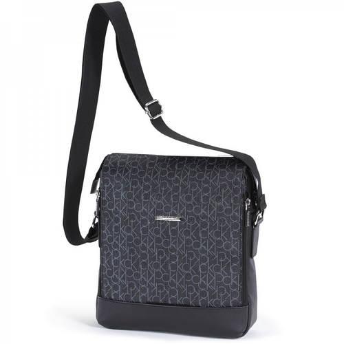 Прочная молодежная сумка  через плечо Dolly (Долли) 635 черный