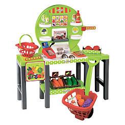 Супермаркет Ecoiffier Продуктовый супермаркет Chef с корзинами и продуктами (001747)