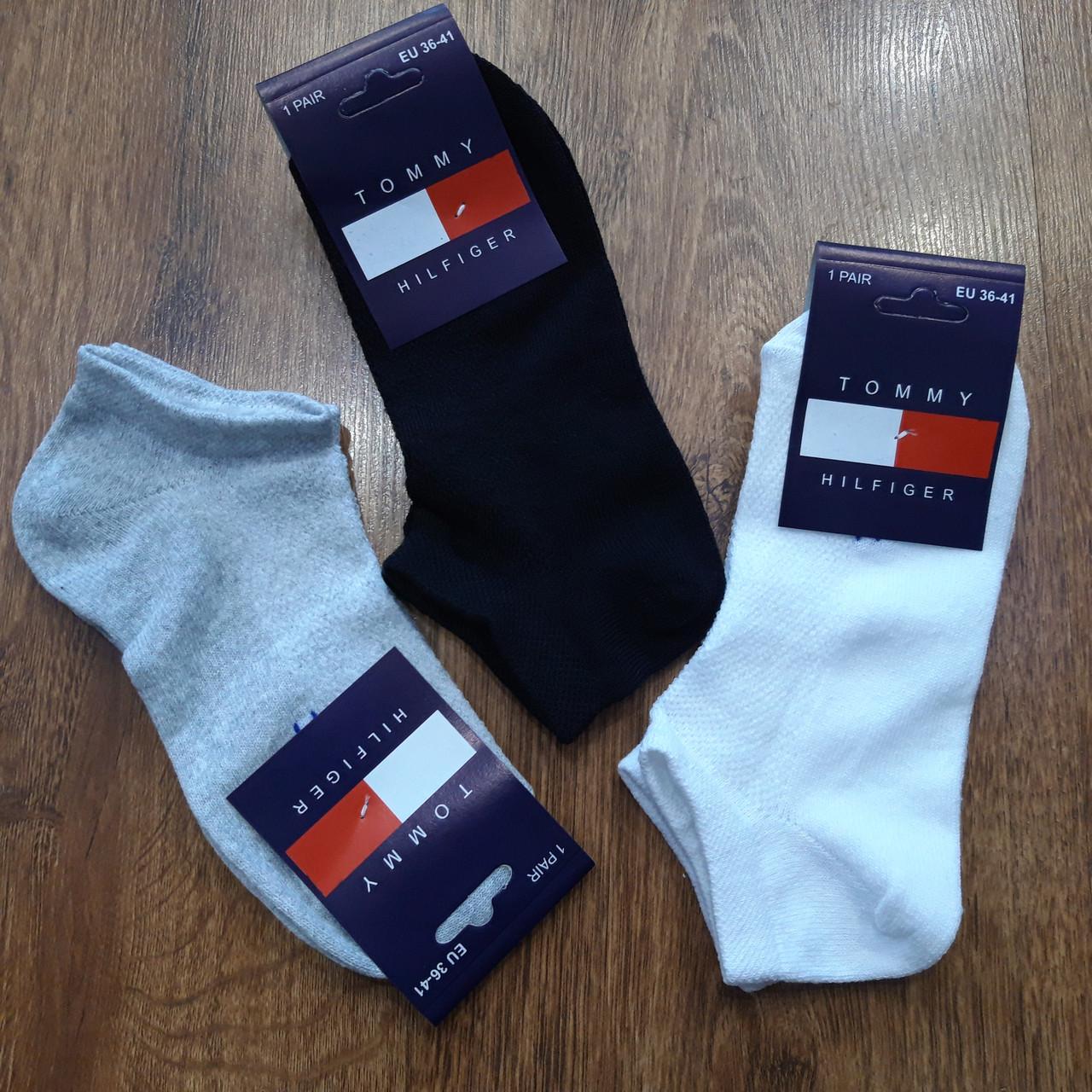 """Жіночі ультракороткі шкарпетки(сітка) в стилі """"Tommy ZZ"""" Туреччина 36-41"""