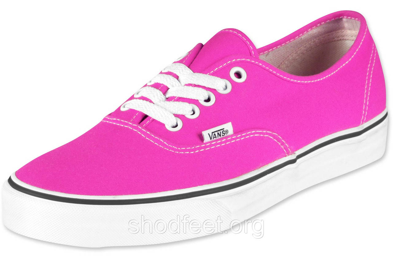 Кеды Vans Womens Neon Pink