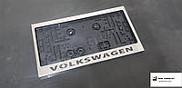 Рамка номерного знака (Американский номер) (USA) с надписью и логотипом Volksvagen