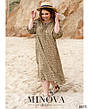 Сукня жіноча штапельне вільний стильне розміри:46-60, фото 4