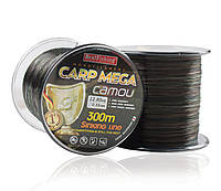 Леска карповая Bratfishing Carp MEGA camou 0,40mm 300m