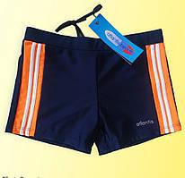 Плавки-шорты для плавания подростковые синие Размеры 152-158 164-170 164