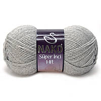Nako Super Inci Hit светло-серый № 195