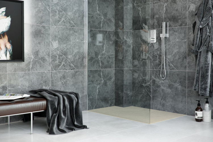Душовий піддон композитний Excellent Lavano Cappucino 900x900