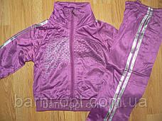 Спортивний костюм на дівчаток (еластик) оптом, FIHU, 86-122 рр, фото 3