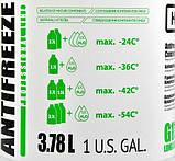 Антифриз HIGHWAY LONG LIFE G11 концентрат зелений 3,78л, фото 3
