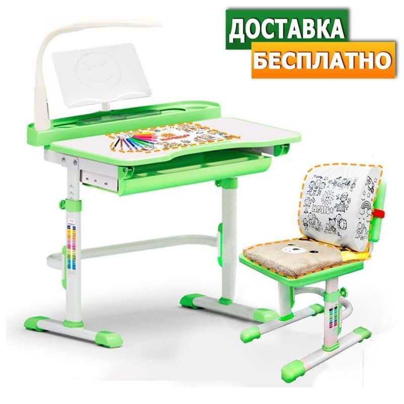 Evo-Evo kids-18+лампа   Дитяча парта растишка одномісна зі стільцем