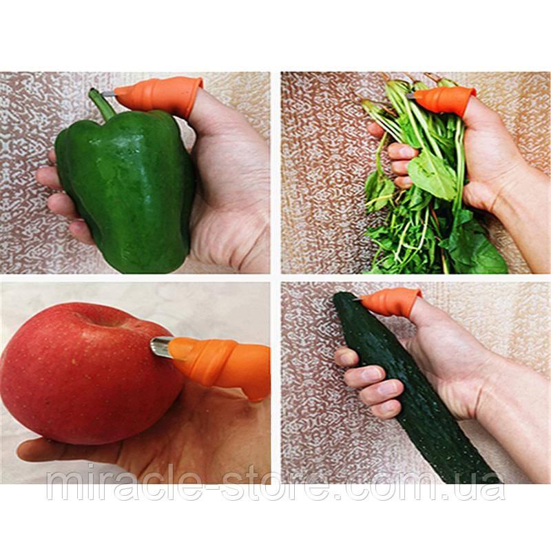 Гострий ніж на великий палець для зручної різання лози