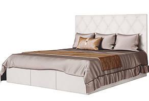 """Мяке двоспальне ліжко """"Кароліна 2"""" від Світ Меблів"""