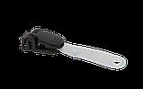 Кліп для бейджа-ідентифікатора, пласт., 53х15 мм, чорний, фото 2