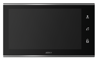 Видеодомофон ARNY AVD-730 Black