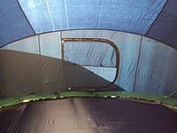 батуты, наверху которых палатка. Размер 306см.